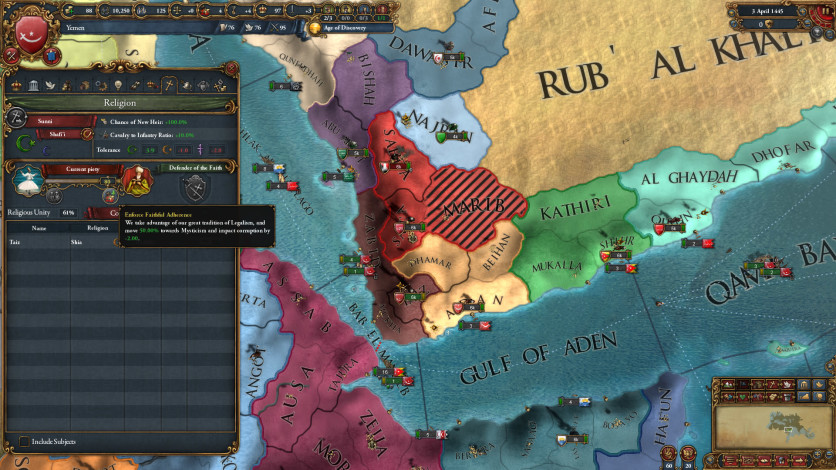 Screenshot 3 - Europa Universalis IV: Cradle of Civilization