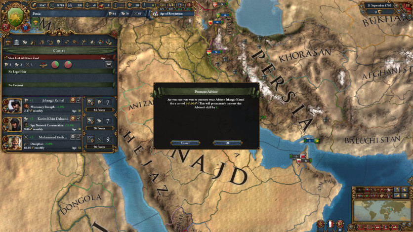 Screenshot 9 - Europa Universalis IV: Cradle of Civilization