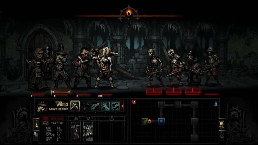 Screenshot 3 - Darkest Dungeon: Soundtrack