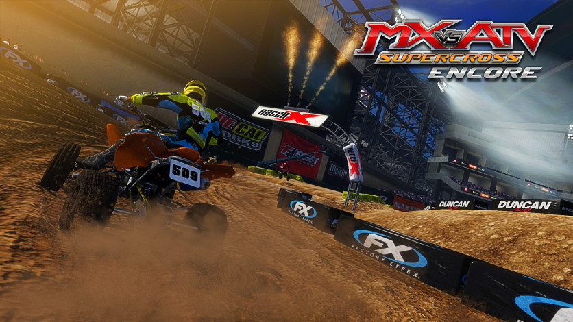 Screenshot 10 - MX vs. ATV Supercross Encore