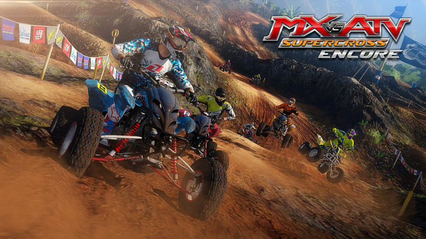 Screenshot 4 - MX vs. ATV Supercross Encore