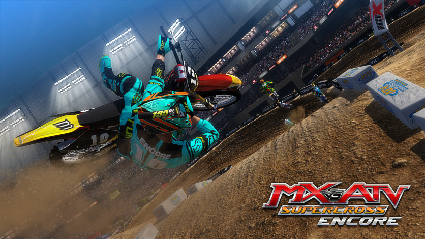 Screenshot 2 - MX vs. ATV Supercross Encore
