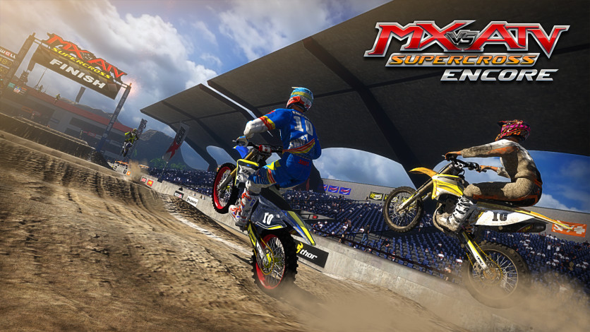 Screenshot 3 - MX vs. ATV Supercross Encore