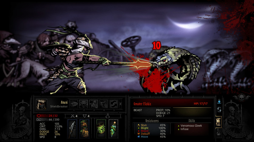 Screenshot 2 - Darkest Dungeon: The Shieldbreaker