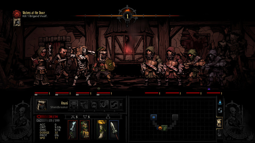 Screenshot 5 - Darkest Dungeon: The Shieldbreaker
