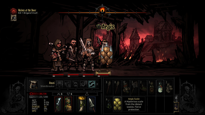 Screenshot 9 - Darkest Dungeon: The Shieldbreaker