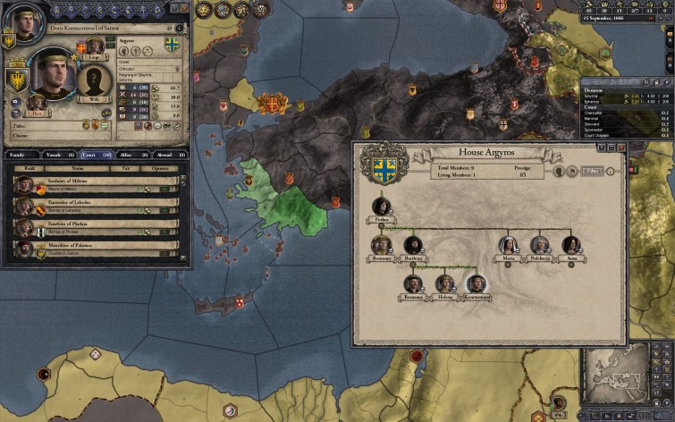 Screenshot 2 - Crusader Kings II: Dynasty Shield II
