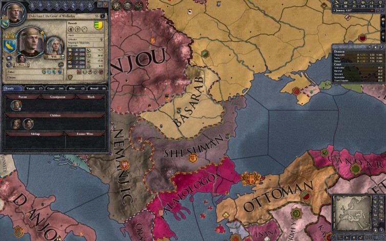 Screenshot 5 - Crusader Kings II: Dynasty Shield II
