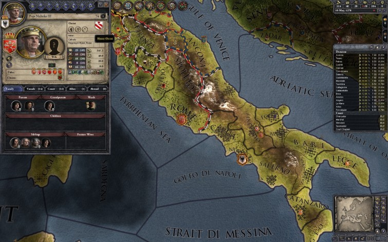 Screenshot 1 - Crusader Kings II: Dynasty Shield II