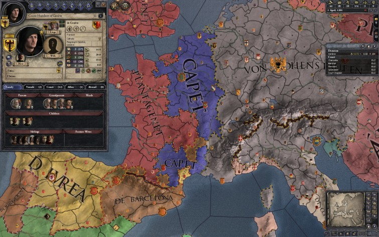 Screenshot 3 - Crusader Kings II: Dynasty Shield II