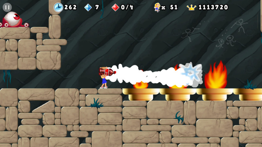Screenshot 7 - Giana Sisters 2D