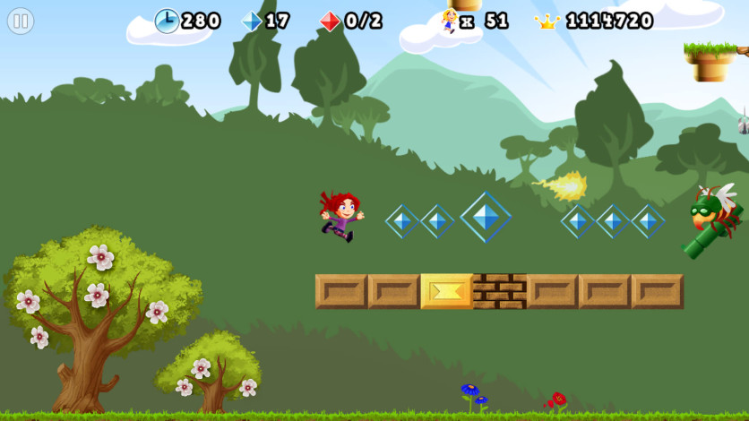 Screenshot 3 - Giana Sisters 2D