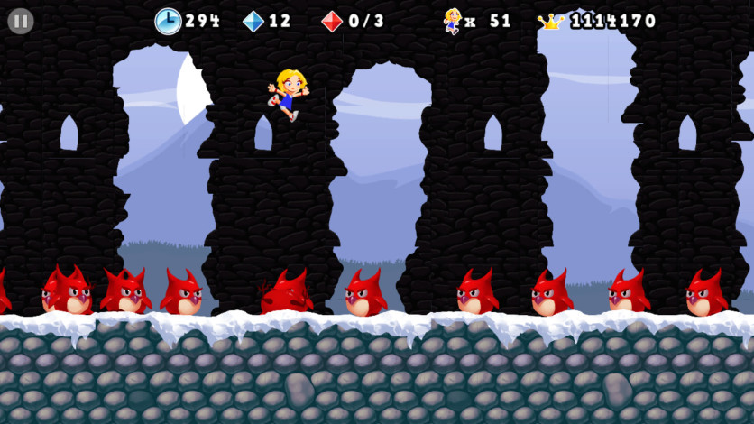 Screenshot 4 - Giana Sisters 2D