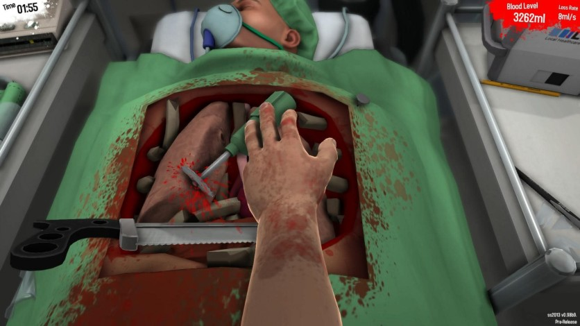 Screenshot 1 - Surgeon Simulator
