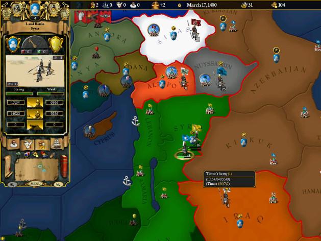 Screenshot 4 - For The Glory: A Europa Universalis Game
