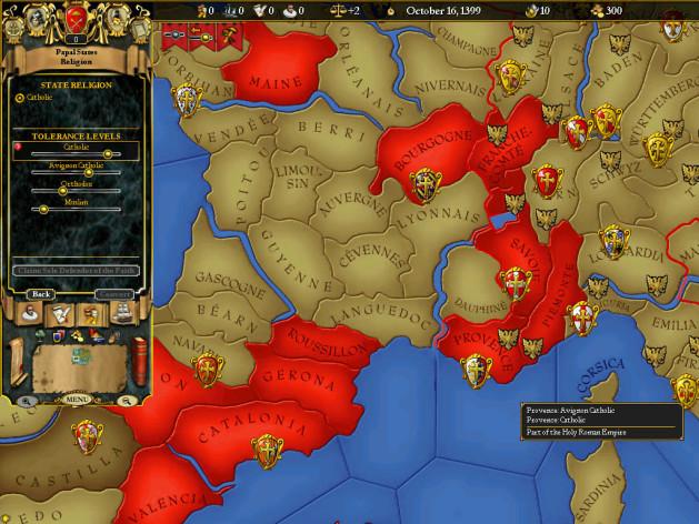Screenshot 1 - For The Glory: A Europa Universalis Game
