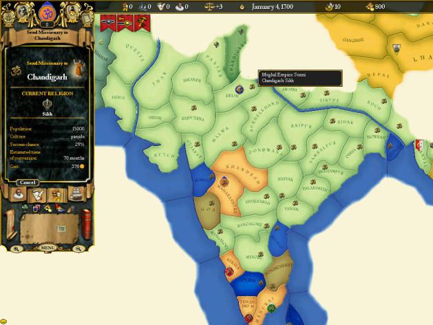 Screenshot 8 - For The Glory: A Europa Universalis Game