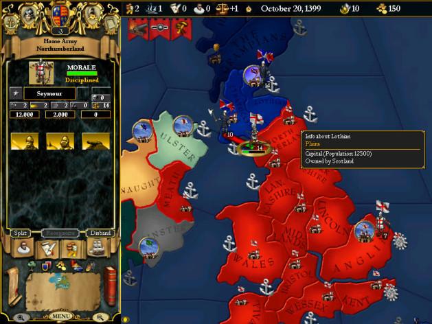 Screenshot 2 - For The Glory: A Europa Universalis Game