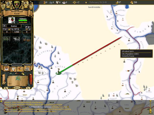 Screenshot 11 - For The Glory: A Europa Universalis Game