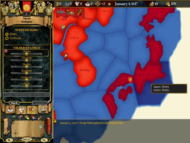Screenshot 6 - For The Glory: A Europa Universalis Game