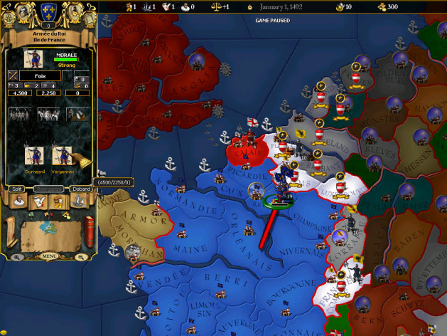 Screenshot 13 - For The Glory: A Europa Universalis Game