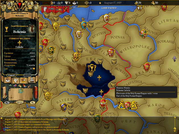 Screenshot 9 - For The Glory: A Europa Universalis Game