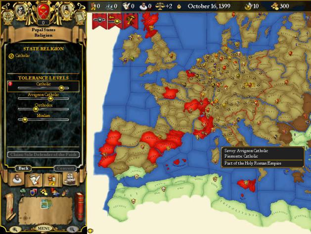 Screenshot 3 - For The Glory: A Europa Universalis Game