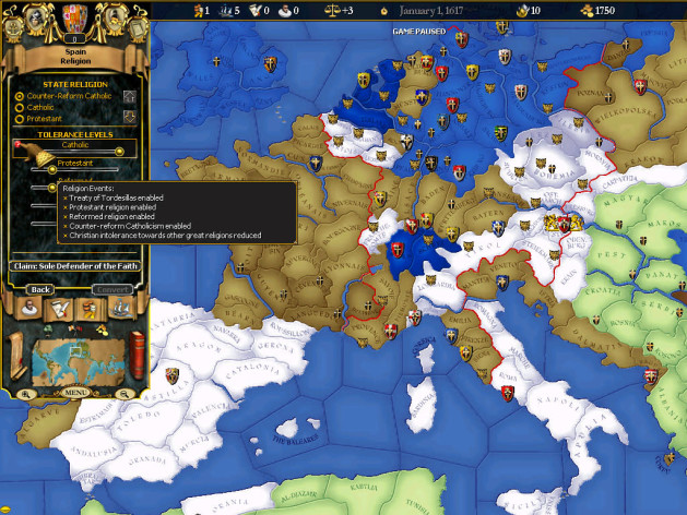 Screenshot 12 - For The Glory: A Europa Universalis Game