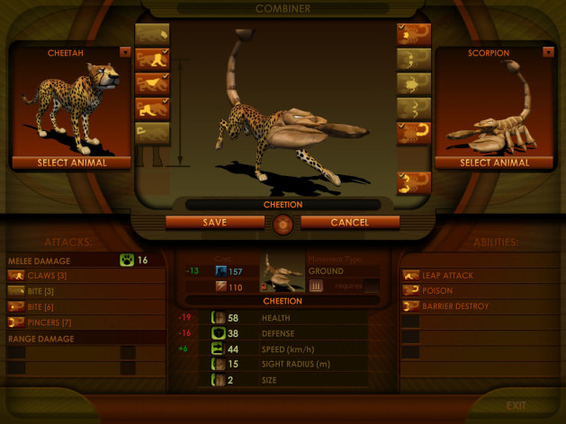 Screenshot 6 - Impossible Creatures