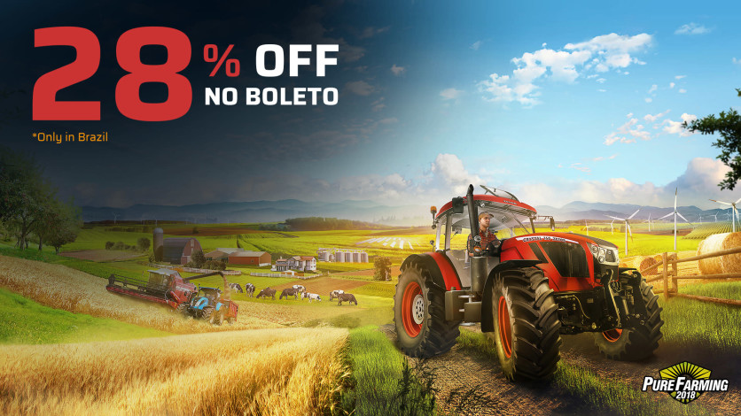 Screenshot 1 - Pure Farming 2018 - Deluxe Edition