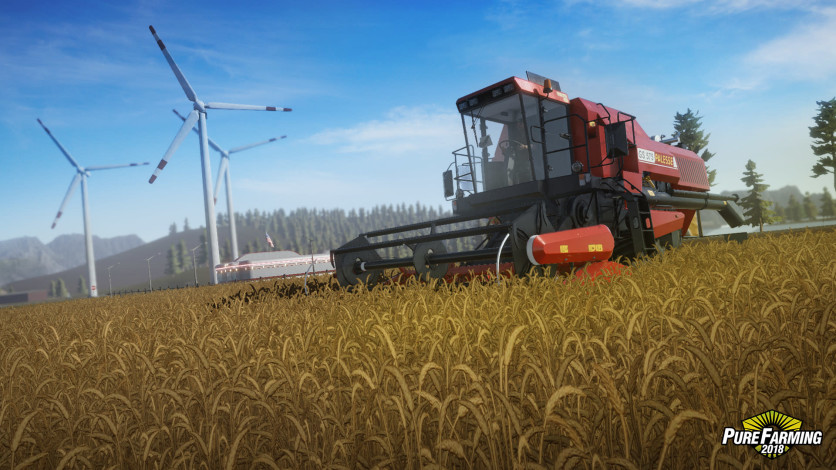 Screenshot 2 - Pure Farming 2018 - Deluxe Edition