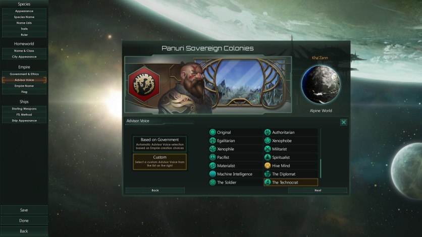 Screenshot 7 - Stellaris - Humanoids Species Pack