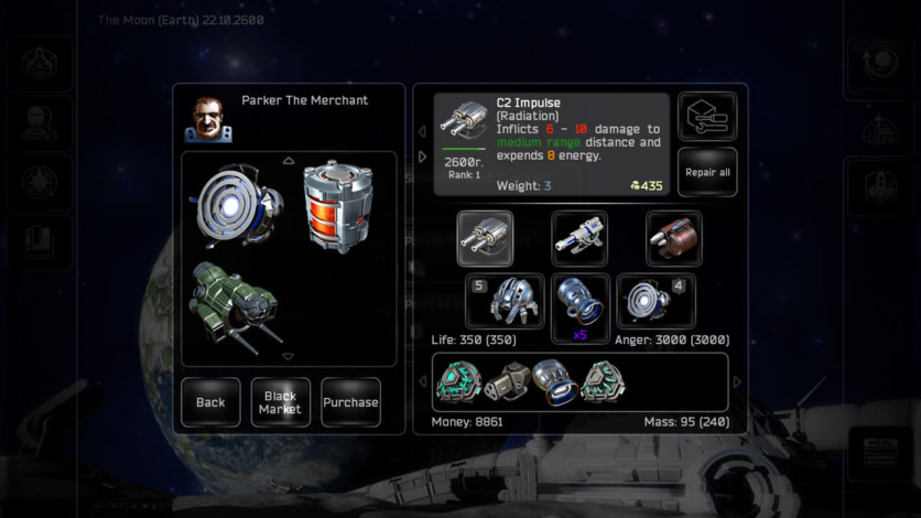 Screenshot 4 - Plancon: Space Conflict