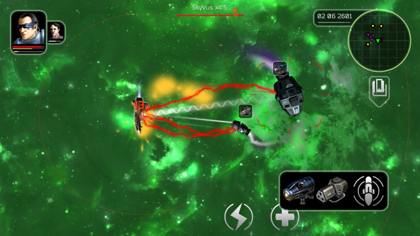 Screenshot 2 - Plancon: Space Conflict