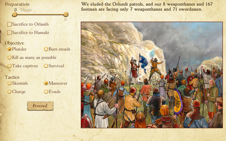 Screenshot 4 - King of Dragon Pass
