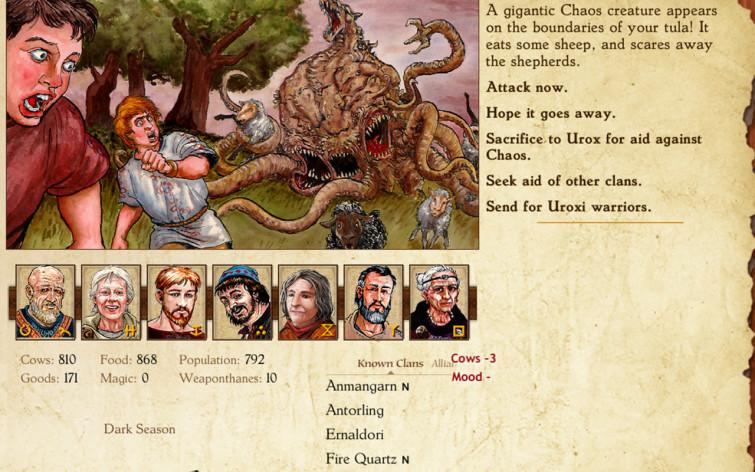 Screenshot 5 - King of Dragon Pass
