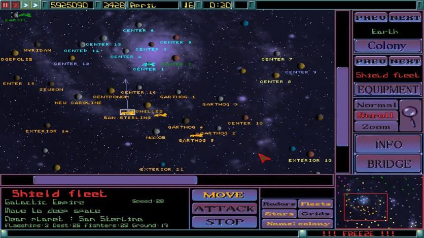 Screenshot 4 - Imperium Galactica