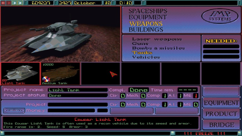 Screenshot 5 - Imperium Galactica