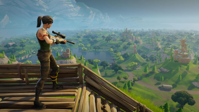 Screenshot 3 - Fortnite: Battle Royale