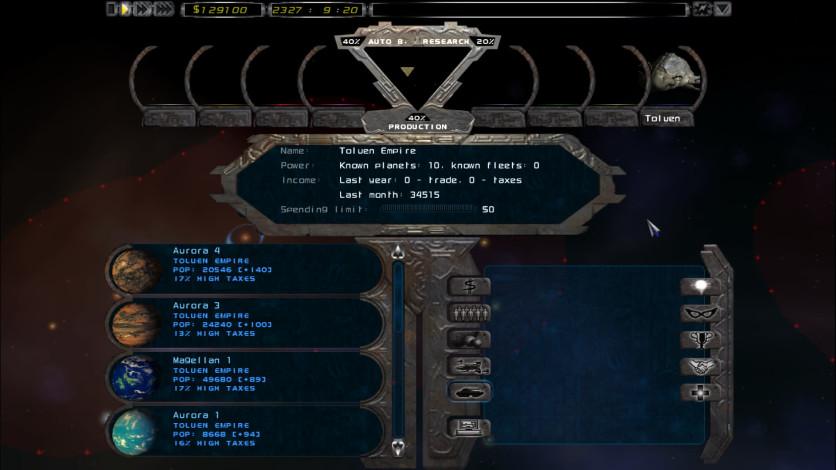 Screenshot 3 - Imperium Galactica II