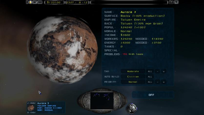 Screenshot 5 - Imperium Galactica II
