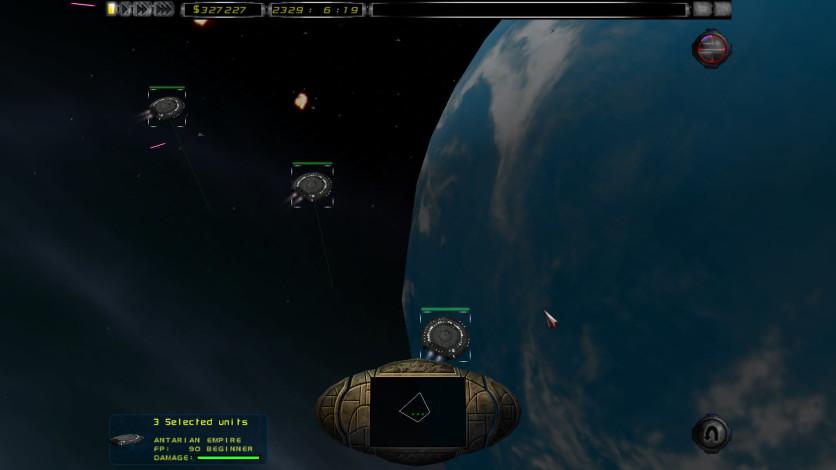 Screenshot 1 - Imperium Galactica II