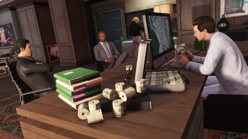 Screenshot 1 - Grand Theft Auto V - Criminal Enterprise Starter Pack
