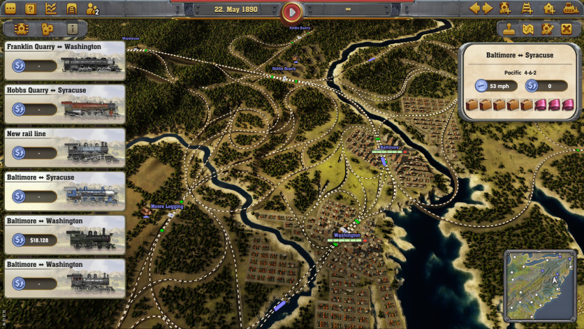 Screenshot 4 - Railway Empire