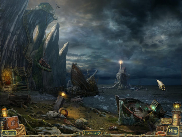Screenshot 2 - Sea Legends: Phantasmal Light Collector's Edition