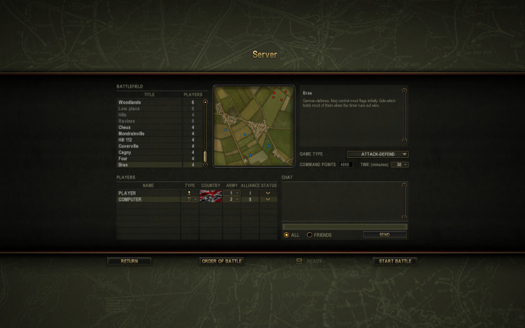 Screenshot 10 - Theatre of War 2 - Battle for Caen