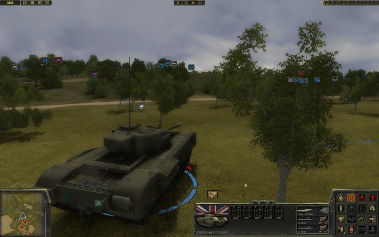 Screenshot 9 - Theatre of War 2 - Battle for Caen
