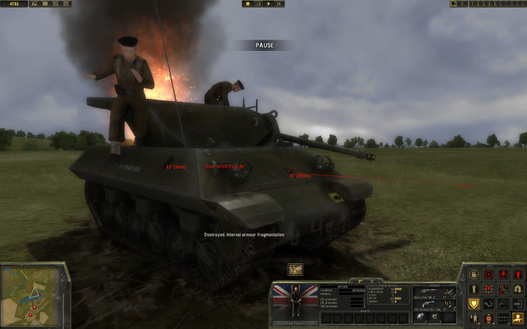 Screenshot 3 - Theatre of War 2 - Battle for Caen