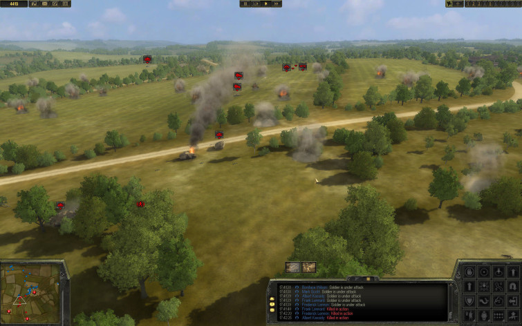 Screenshot 1 - Theatre of War 2 - Battle for Caen