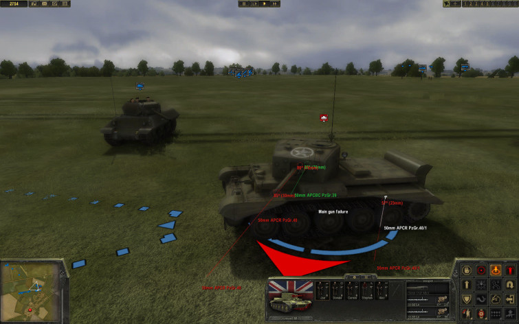 Screenshot 4 - Theatre of War 2 - Battle for Caen